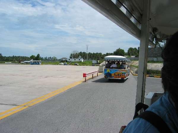 Aeroporto Koh Samui : Thailandia agosto